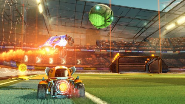Rocket League will be the first game to support cross-network play on Xbox One, connecting to the PC version of the game ...