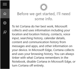 Cortana personal assistant: The lines between our personal and digital lives are increasingly blurred.