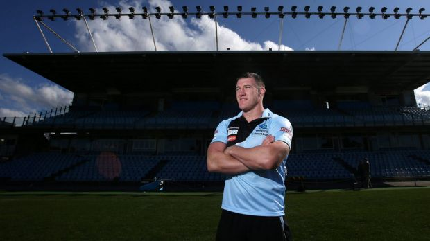 Workhorse: Cronulla captain Paul Gallen.