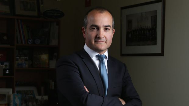 Education Minister James Merlino ordered an investigation into the school's use of classroom pens in October.