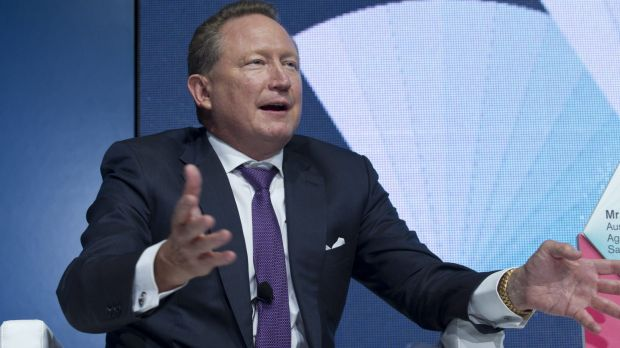 The healthy welfare card was proposed by mining magnate Andrew Forrest.