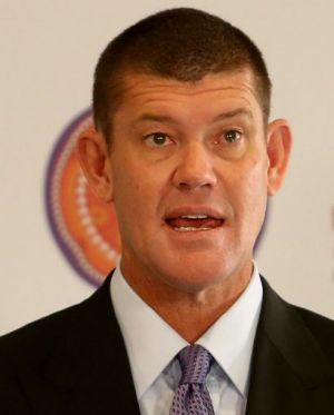 James Packer came out in support of Adam Goodes on Friday.