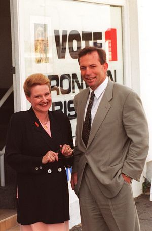 It can't have been easy for Tony Abbott to ease out his mentor Bronwyn Bishop.