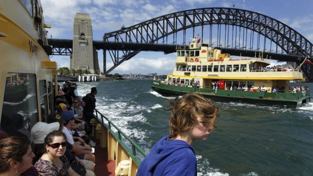 Unlike private operators, ferries operated on behalf of the state government accept Opal cards.