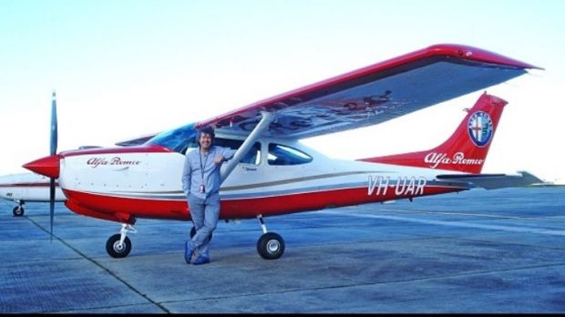 The plane involved in of the court battle between Clyde Campbell and Fiat Chrysler Australia.
