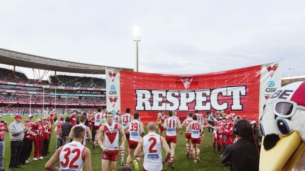 The Swans take to the SCG.