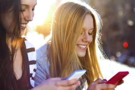 A survey found half of teenagers have sexted sexually explicit images of themselves.