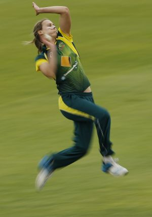 In form: Southern Stars all-rounder Ellyse Perry.