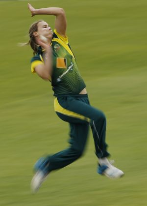 World-class athlete: Southern Stars all-rounder Ellyse Perry.