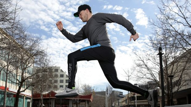 ON THE GO founder and CEO Mick Spencer.  The Canberra company is collaborating with DundasFit on a line of mens ...