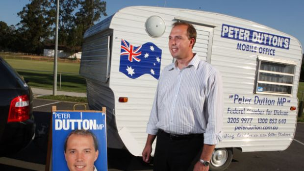 Peter Dutton, touted as a future Liberal leader, is looking for a new seat to contest.