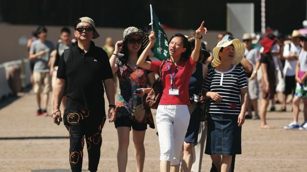 Annual spending by Chinese visitors in Australia has reached $7.7 billion, in a significant boost to the economy.