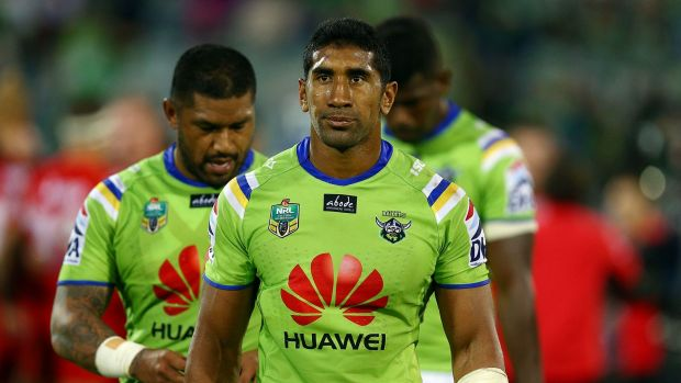 The Canberra Raiders are working on retaining second-rower Sia Soliola for next season.
