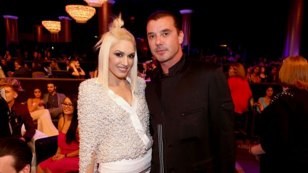 In happier times: Gwen Stefani and Gavin Rossdale before they split in December 2014.