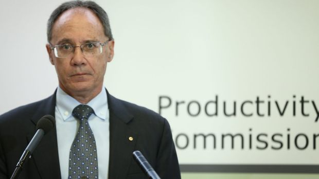 Peter Harris, Chairman of the Productivity Commission.