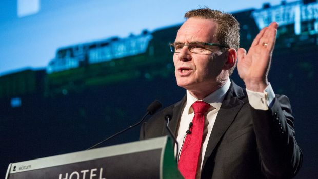 How much am I getting? BHP chief executive Andrew Mackenzie.