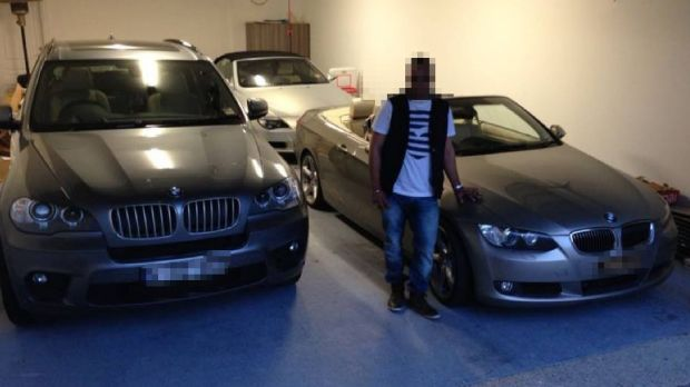 Cars owned by Baljit 'Bobby' Singh.