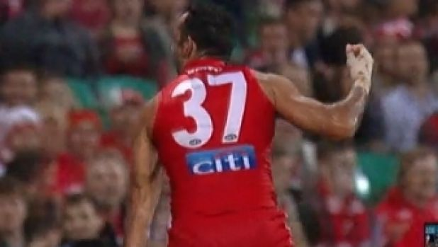 Adam Goodes' fierce gesture should be celebrated, just as the haka is and, like the haka, directed at the opposing team, ...