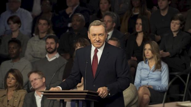 Customers come to Netflix for content such as House of Cards.