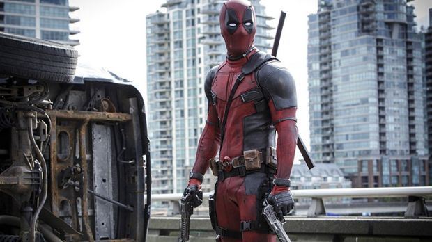 Record run ... Ryan Reynolds as superhero <i>Deadpool</i>.