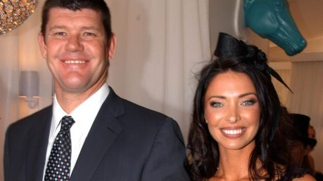 James Packer and his former wife Erica Packer, who invested in Booodl.