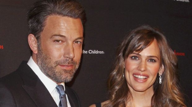 "Affleck thanked his ""co-parent"" Jennifer Garner for her support."