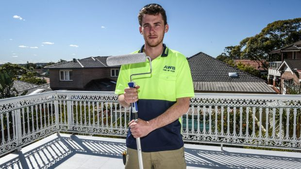 The lure of work brought Chris Sturdy back to Sydney from Queensland.