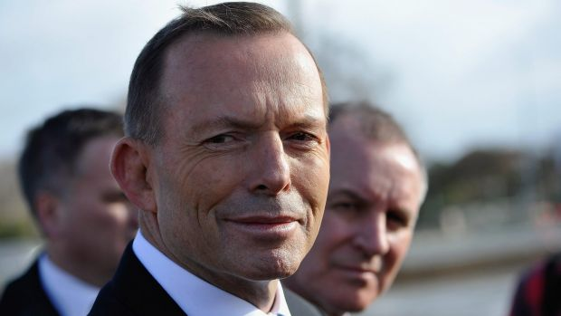 Prime Minister Tony Abbott with South Australia Premier Jay Wetherill in Adelaide this week.