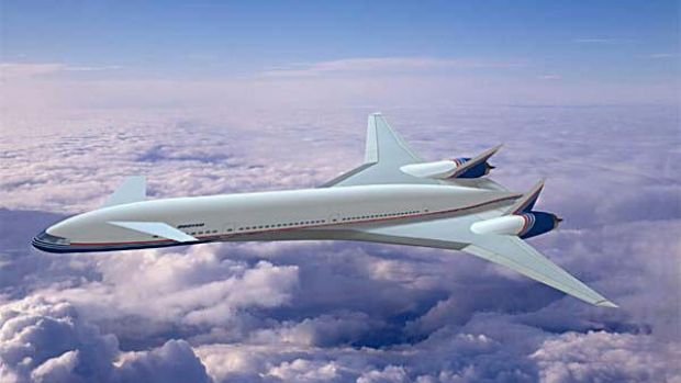 Boeing eventually canned its futuristic Sonic Cruiser project, which Qantas executives came to see as a 'box full of ...