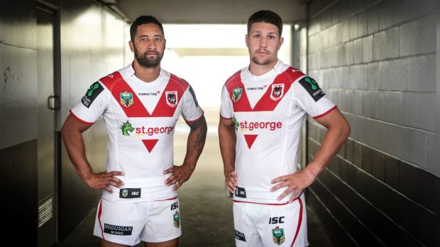 Dynamic duo: Benji Marshall and Gareth Widdop.