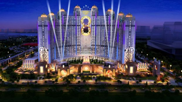 Eighteen hotel projects under construction in Macau