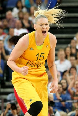Lauren Jackson is desperate to win Olympic gold.