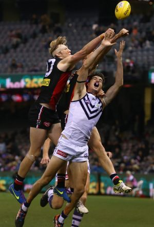 Ross Lyon has compared Alex Pearce to Dustin Fletcher.