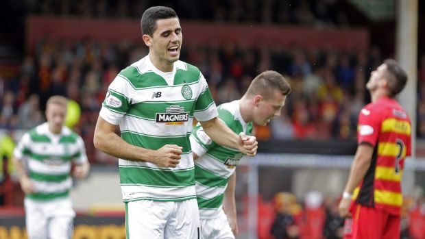Canberra's Tom Rogic has won Celtic's goal of the year award.