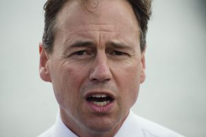 """Environment Minister Greg Hunt: Australia is """"strongly opposed"""" to whaling."""
