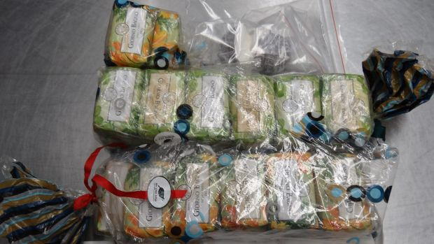 Mr Twartz was accused of importing 4.5 kilograms of cocaine masked in 27 bars of coloured soap.