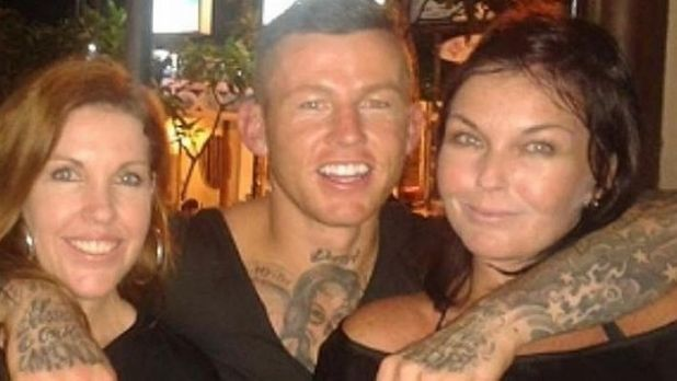Mercedes Corby, Todd Carney and Schapelle Corby in Bali following Schapelle Corby's release from jail.