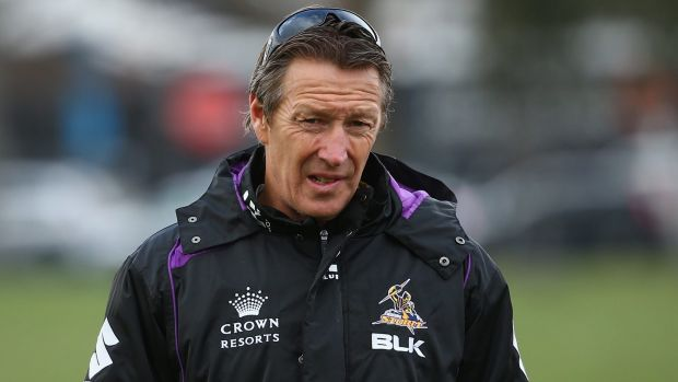 Keen to resolve his future: Storm coach Craig Bellamy.