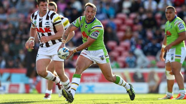 Hooker Josh Hodgson has been a terrific signing for the Raiders this season.