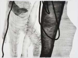 <i>Muse</i> by Gabrielle Soulsby in <i>Works on Paper</i> by Gabrielle Soulsby and <i>Sculpture</i> by Leonie Gill at ...