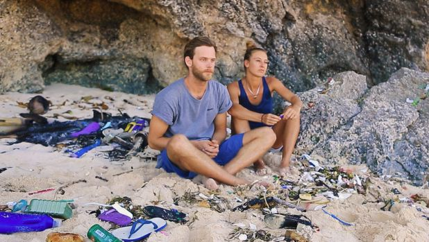 Felix Wunner and Luise Grossmann, founders of ecoFin, have designed a high-tech surf fin made from recycled Balinese ...