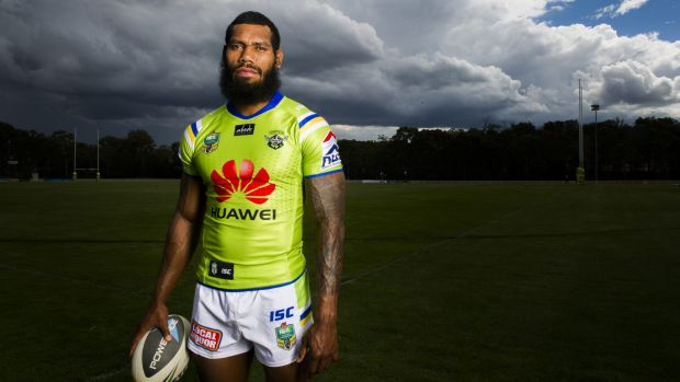 Raiders back Sisa Waqa has played across the back line in his first season at the club.