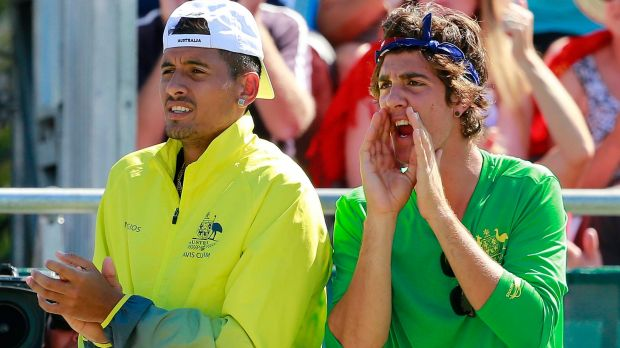 Doubles: Nick Kyrgios and Thanasi Kokkinakis will play together in New York.