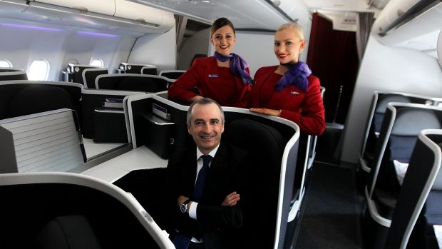"""Virgin's John Borghetti: """"I know it sounds like a small thing, but I can't find anyone who likes airline coffee."""""""