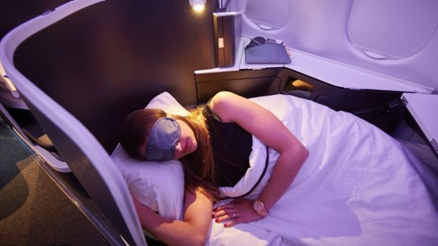 Like the new seats launched by rival Qantas in December, Virgin Australia's new seats feature fully flat beds and aisle ...