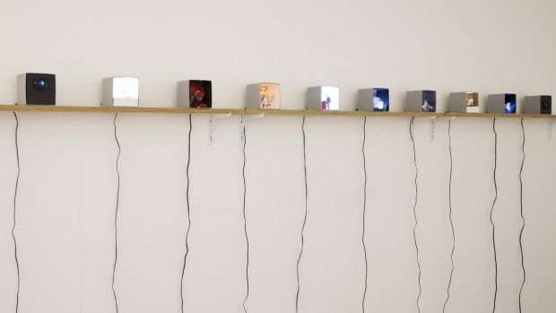 Some Useful Values,  mixed media installation by Jo Law.