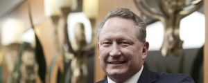 Cashing in: Fortescue founder Andrew Forrest.