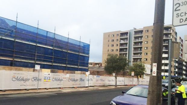 The Mehajer development in John Street, Lidcombe.