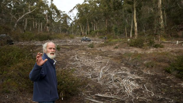 Chris Jonkers of the Lithgow Environment Group says the East Wolgan swamp has also been damaged by the Springvale coal mine.