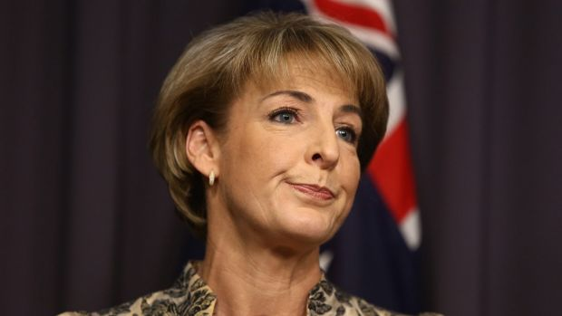Opposed to the law change: Minister for Women Michaelia Cash.